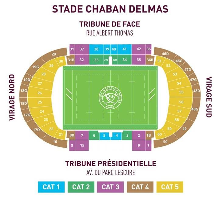 tarifs-billetterie-UBB-Edimbourg-quart-de-finale-coupe-d-europe-bordeaux