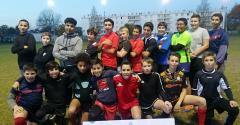 L'Entente Villenave - Cadaujac remporte le concours des ramasseurs de ballons
