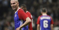 Zidane à Chaban pour le match des légendes