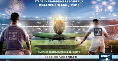 Agen - Montauban : la finale PRO D2 à Chaban