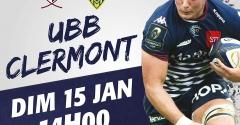 Ouverture billetterie UBB - Clermont en Top 14... et en Champions Cup !