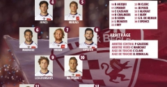 La composition face au Racing 92