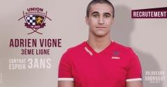 Adrien Vigne signe à l'UBB pour 3 ans