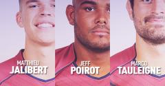 3 joueurs de l'UBB appelés par le XV de France